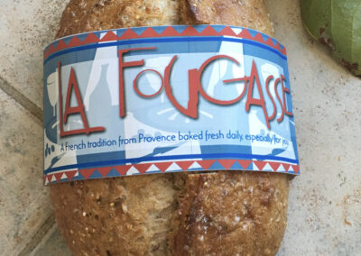 La Fougasse, bread labeling